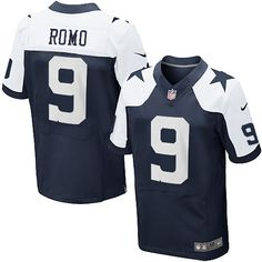 NFL Men s Elite Nike Dallas Cowboys  9 Tony Romo Throwback Jersey  129.99 Dallas  Cowboys Players bcea6586b