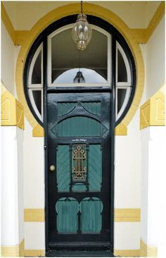 Art Nouveau -Door in the Netherlands