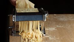 Homemade pasta.  I will master this as a summer project. Plus:  This site has so many amazing tips for working with dough of all types!