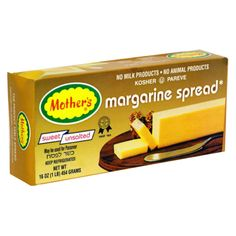 Mothers Margarine Spread, Sweet Unsalted Image