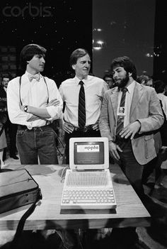 Jobs, Sculley and Woz