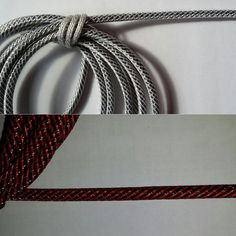 Hybrid Material Woven Lamp Wire