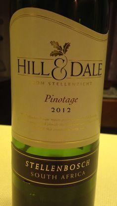 Hill & Dale - Pinotage, Stellenbosch, SA
