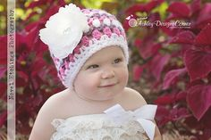 Ravelry: Spring Tulip Beanie (All Sizes) pattern by Ashley Designs