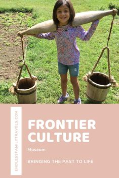 The Frontier Culture Museum brings the past to life. Find out about the immigrant experience on the frontier, great for hands-on and interactive learning! #Frontier #Staunton #Virginia Best Family Vacation Spots, Family Travel, Staunton Virginia, Interactive Learning, Throughout The World, Days Out, Travel Usa, The Past, Bring It On