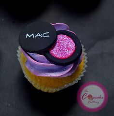 Mac makeup cupcake