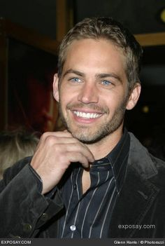 Gone too soon.... Paul Walker actor from the Fast and Furious