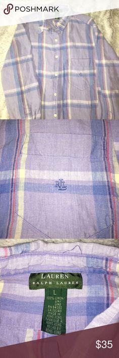 Men's Lauren Ralph Lauren shirt. Men's Lauren Ralph Lauren shirt. Signature logo on the chest. Perfect condition. Lauren Ralph Lauren Shirts Dress Shirts