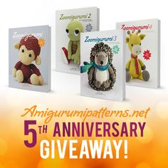 Amigurumi Giveaway! Win $1 000 Worth Of Crochet Books. Enter Now.