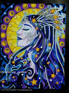 First Pic Coloured From My New Book Spirit Women By Cristina McAllister