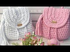 Crochet - Page 18 of 171 - Crochet and Knitting Patterns Crochet Case, Free Crochet Bag, Crochet Wool, Bead Crochet, Filet Crochet, Crochet Backpack Pattern, Bag Pattern Free, Crochet Handbags, Crochet Purses