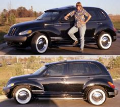 114 best my dream pt images on pinterest chrysler pt cruiser well done tinted front windows e and g classics running boards and visor chrome trim hood ornament is a vintage fender spear burlwood dash kit publicscrutiny Gallery