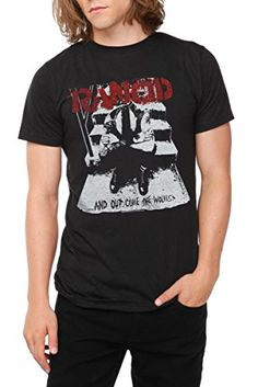 ce59d3f04a Machete Rancid Distressed and Out Come The Wolves Slim Fit T-Shirt S-2XL New