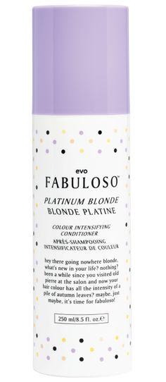 49282fd457b evo fabuloso purple shampoo for platinum blonde Brassy Hair, Purple  Shampoo, Platinum Hair,