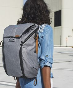 1dca6dfd0c The best travel backpack  We think so. The Everyday Backpack gives you  unrivaled accessibility. Peak Design