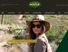 Dynamic Website Design >> ROGUE Outdoor Gear www.rogue.co.za  Created By Design So Fine