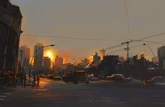 sundown by zhuzhu.deviantart.com on @DeviantArt