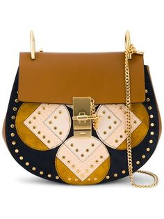 CHLOÉ small 'Drew' shoulder bag. #chloé #bags #shoulder bags #lining #suede #