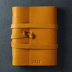 Saddle Tan Leather Journal from Ox & Pine. Choose a beautiful leather journal that you can personalize for yourself or a loved one! Leather Gifts, Handmade Leather, Leather Journal, Memorable Gifts, Ox, Leather Working, Tan Leather, Customized Gifts, Her Style