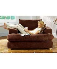Charmant Unbranded Megan Oversized Chair   Chocolate Need Different Color And Maybe  An Ottoman
