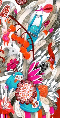 Luxure on Behance Digital Art Tutorial, Visual Development, Children's Book Illustration, Book Illustrations, Art Tutorials, Book Design, Amazing Art, Illustrators, Art For Kids