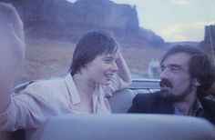 Martin Scorsese & Isabella Rossellini, Monument Valley by Wim Wenders