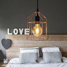 Pendant Lamp Frame B Copper Cooper Kitchen, Pendant Lamp, Ceiling Lights, Black And White, Lighting, Bedroom, Frame, Unique, Design