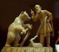 Резьба по дереву. Русский музей.