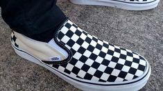 VANS CHEKBOARD - estampa quadriculada em sapatilhas