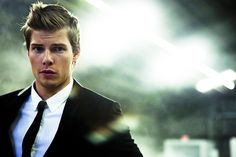 Hunter Parrish as Christian Grey in Fifty Shades of Grey