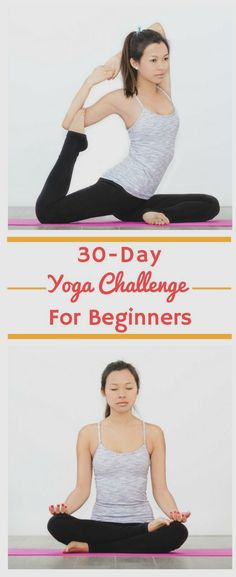 30 Day Yoga Challenge for Beginners | This amazing 30 day yoga challenge for beginners is made up of daily videos to help you with weightloss, toning, meditation and flexibility. The videos are easy to do at home and can also help you manage stress and develop a healthy workout routine! #yoga #yogachallenge #yogaforbeginners