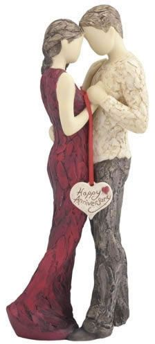 Happy Anniversary Statue. Available at AllSculptures.com