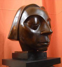 Ernst Barlach German Expressionist Sculpture Der Schwebende Engel Bronze Statue