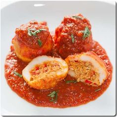 Bollos Pelones, (Stuffed Cornmeal Balls), can be done with chicken or beef, Venezuelan Food