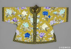 Women's Magua马褂 in Qing dynasty
