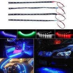 1pcs/10pcs Waterproof 15 LED 30cm Car Styling super waterproof flexible Car Light Daytime Running Lights  DRL Soft Strips //Price: $1.99 & FREE Worldwide Shipping //     #Arrivals