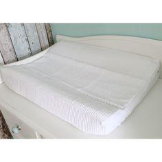 Aankleedkussenhoes wafel wit