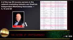 Do you know who is the Top Income Earner in Entire Network marketing and Home Based Industry? Its None other than one of Cryptopreneur. He did it in leass than 15 months. If you want to learn how can you can be cryptopreneur than PM me.