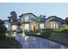Eplans Mediterranean House Plan - Authentic Design Turns Heads - 5183 Square Feet and 6 Bedrooms(s) from Eplans - House Plan Code HWEPL67789
