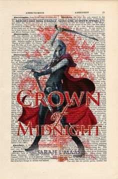 Throne of Glass Crown of Midnight Book Cover by CartabanCards