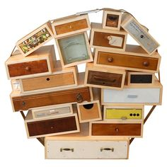 Tejo Remy Chest of Drawers (Numbered Edition 95 of 200). How funky!