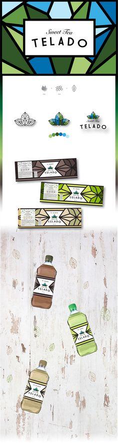 TELADO sweet tea by Celeste Lolato. #packaging #design #SFields99