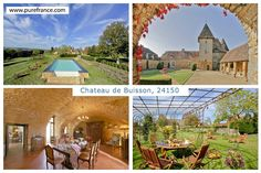 Beautiful self catering #vacationchateau in the #Dordogne, France, sleeps 10. www.purefrance.com