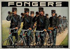 1910 - 1915 E. G. Schlette | Fongers. Thans uitsluitend bij ons leger in gebruik. The Netherlands, advertising poster