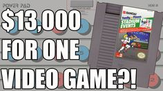 Talk about retaining value. Would you buy an NES game for 13k? http://buff.ly/2szVVWN #gamersunite #videogames #retrogaming #NES #2k17