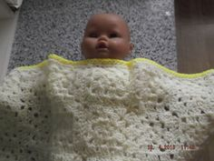 HANDMADE CROCHET BLANKET   Cuddle  by nannycheryl original  ID 726(D) £20.00