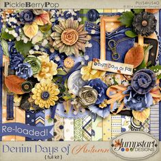 Denim Days of Autumn {Re-Loaded Kit} by Jumpstart Designs By Fayette Designs