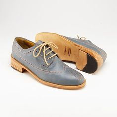 Haley Wing NB | Gray Multi | Woman | Florsheim x Esquivel | Handcrafted in California