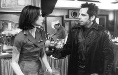 Still of Claire Forlani and Ben Stiller in Mystery Men (1999)