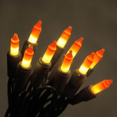 Halloween Candy Corn Lights! http://www.lightsforalloccasions.com/p-4878-string-lights-20-halloween-candy-corn-bulbs-7-feet-black-wire.aspx